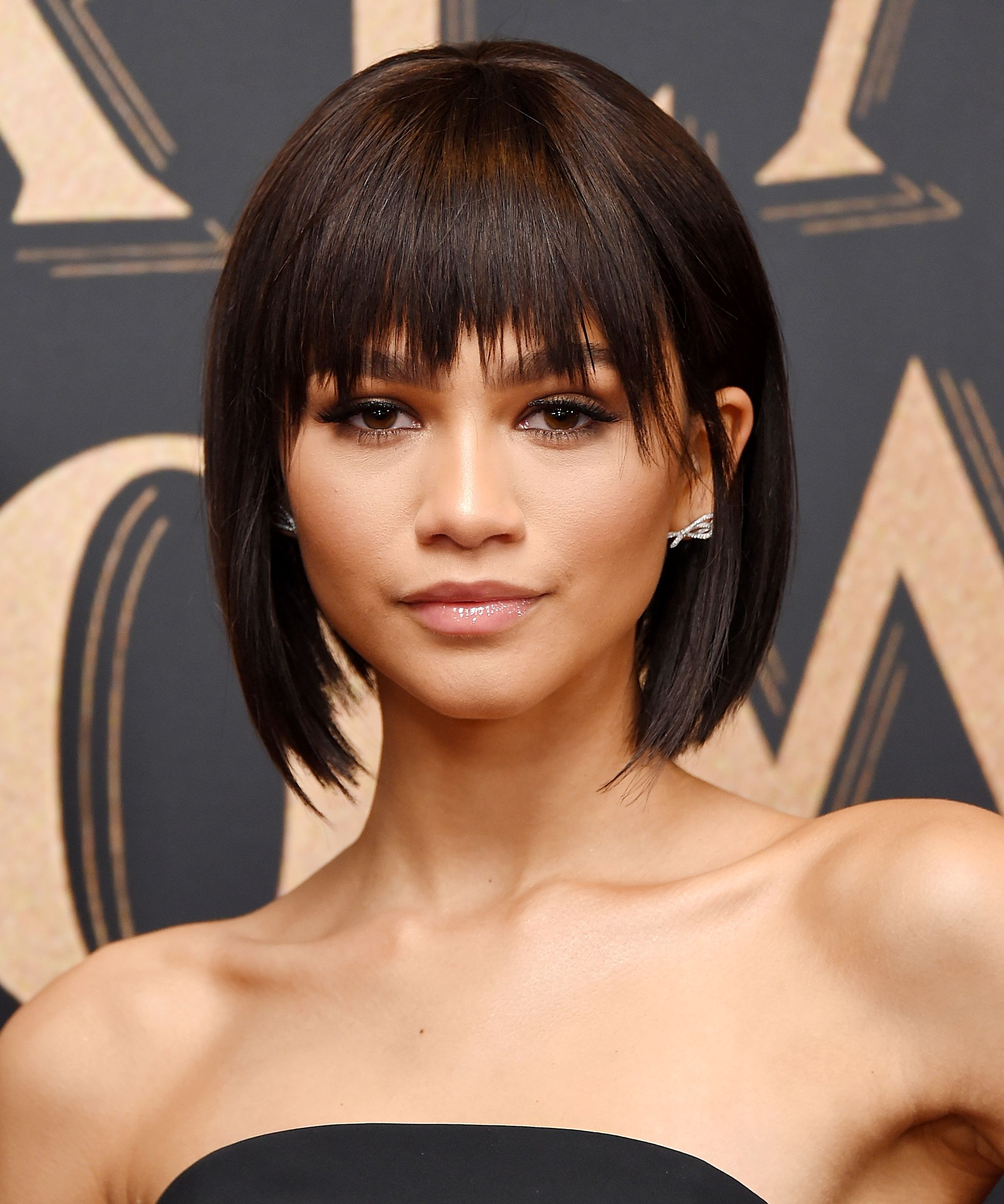 Our Top 10 Favorite Party Hairstyles Short Hair Styles Short Hair With Bangs Party Hairstyles
