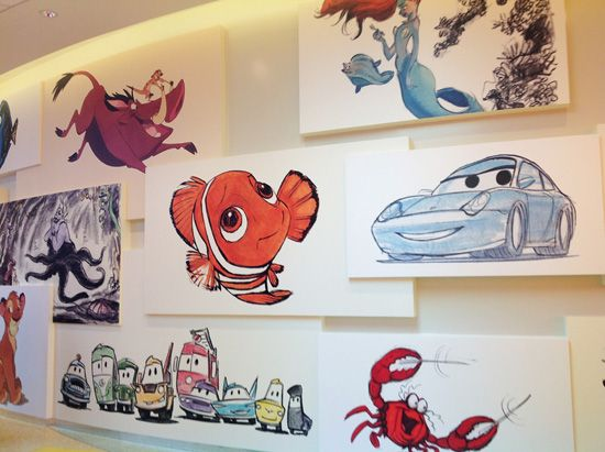 Disney's Art of Animation Wall