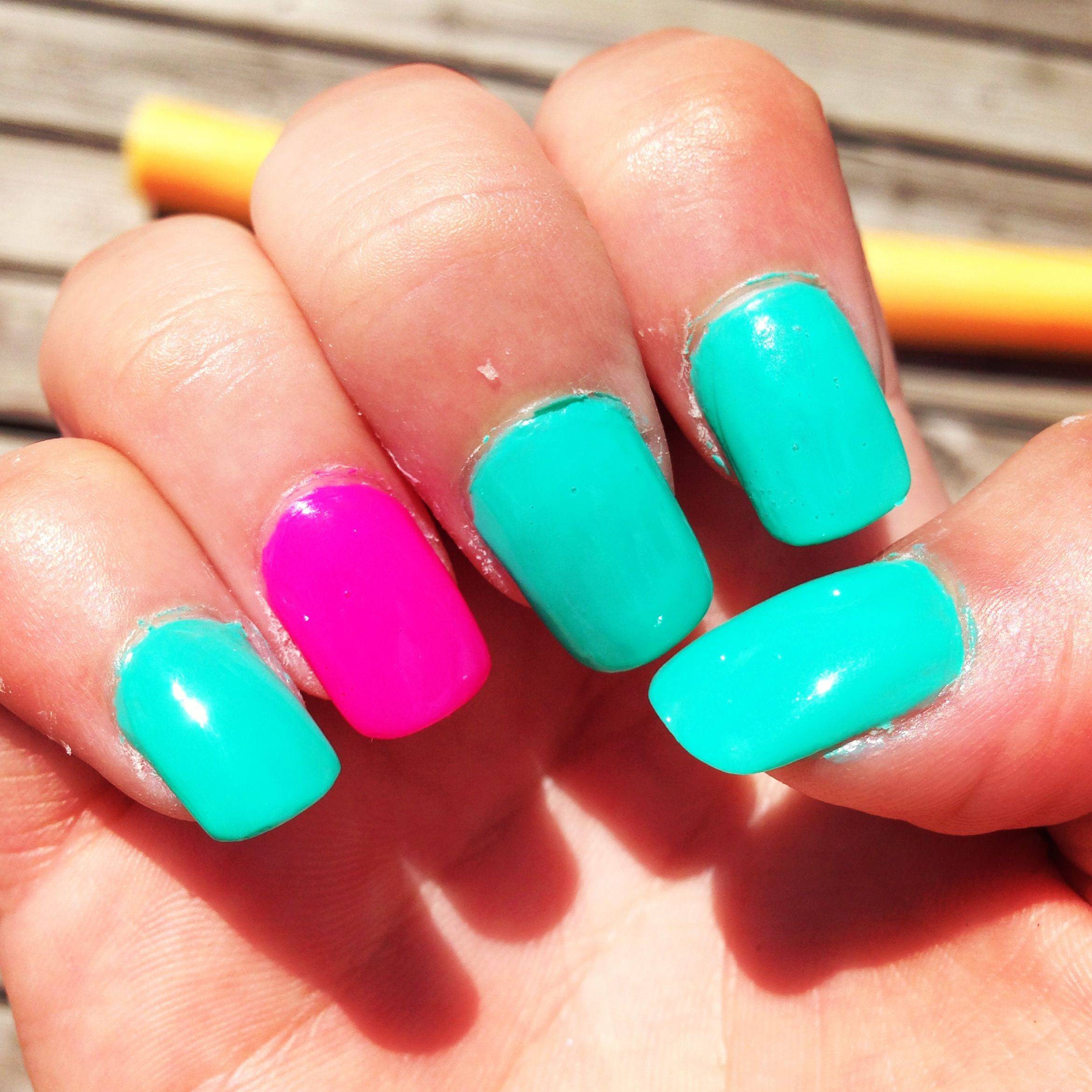 Get Summer Time Nails Pictures