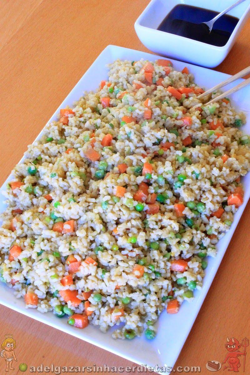 Con arroz integral receta saludable de arroz frito chino tres food forumfinder Image collections