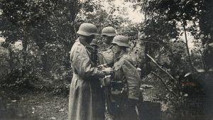 """""""Ich wollte Orden verdienen"""": Bilder aus Günthers Zeit bei der Wehrmacht."""