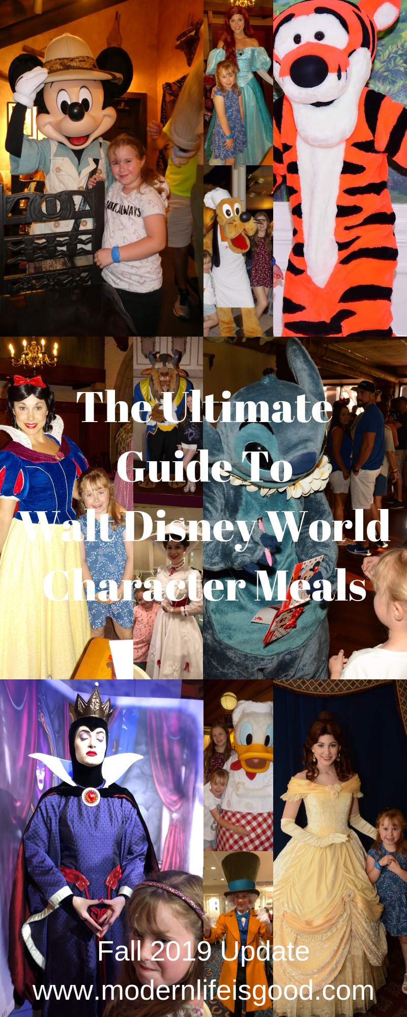 Our Guide to Walt Disney World Character meals was last updated during September…