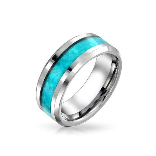 Vine Peter Stone 925 Silver Celtic Pattern Womens Mens Graduated Ring Size 13