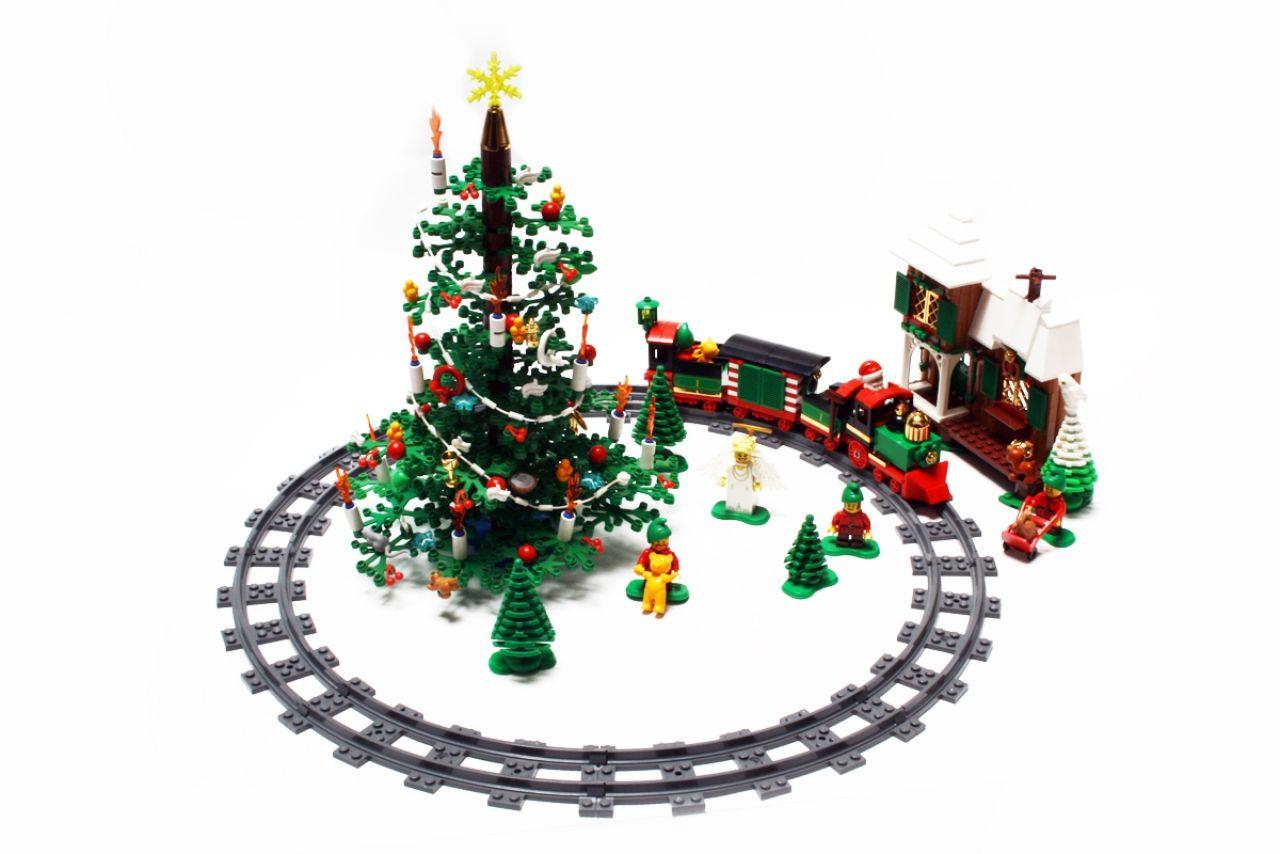 Lego Christmas Train.Gallery For Lego Christmas Train Five Star Lego Moc S