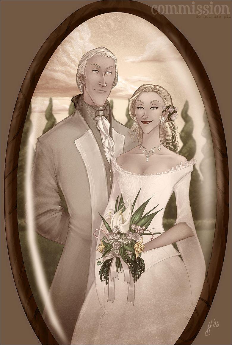 Wedding Portrait - Narcissa and Lucius