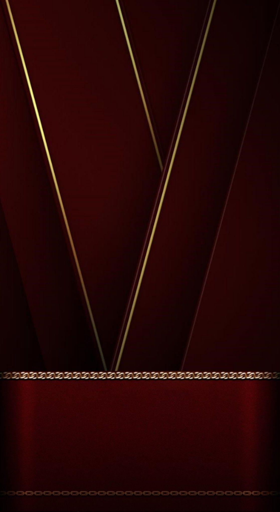Burgundy with Gold Trim Wallpaper Gold wallpaper iphone