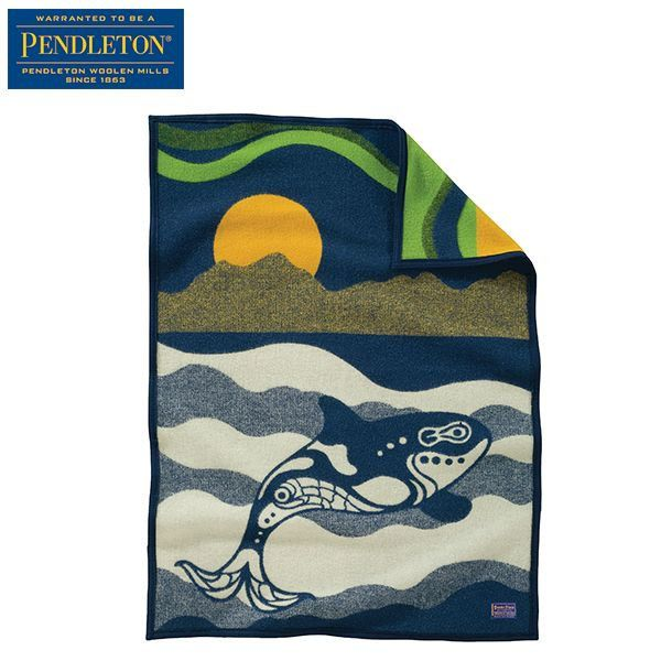 PENDLETON(ペンドルトン) ムチャチョブランケット シーウルフ