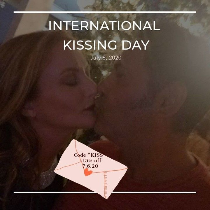 Happy International Kissing Day The Perfect Time To Try A New Long Wearing Lipstick That Hydrates In 2020 International Kissing Day Maui Weddings Long Wear Lipstick