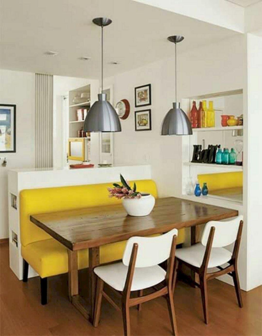 Bon 79 Astonishing Small Dining Room Designs