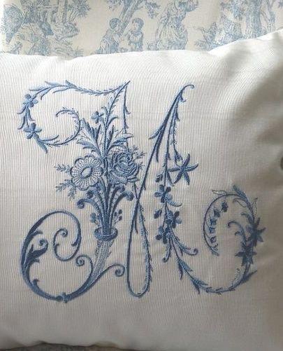 Custom Embroidered Monogram