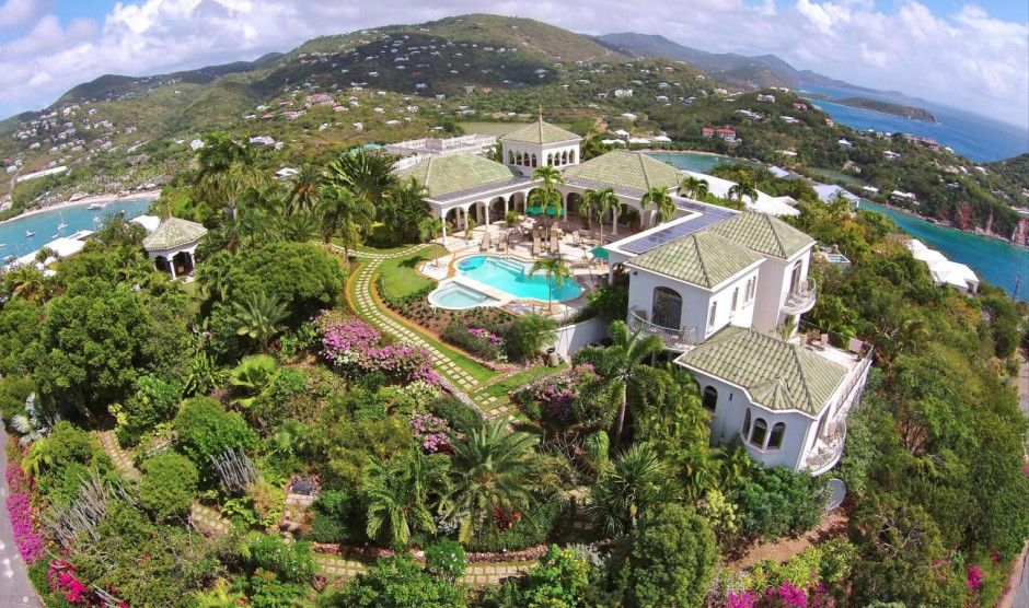 A genuine architectural masterpiece, Villa Kismet stands among only a handful of truly world class estates in the Caribbean. From its ultra private perch atop Maria