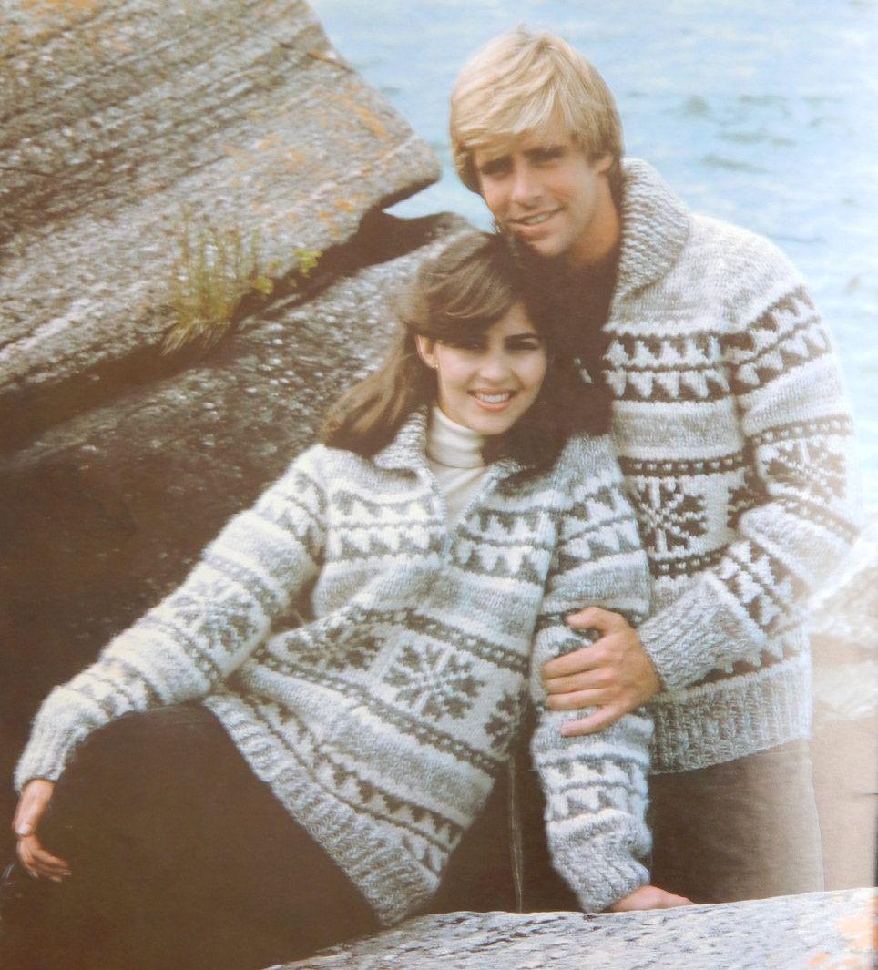 White Buffalo Sweater Knitting Patterns Book 2/ 7 designs Size 32 ...
