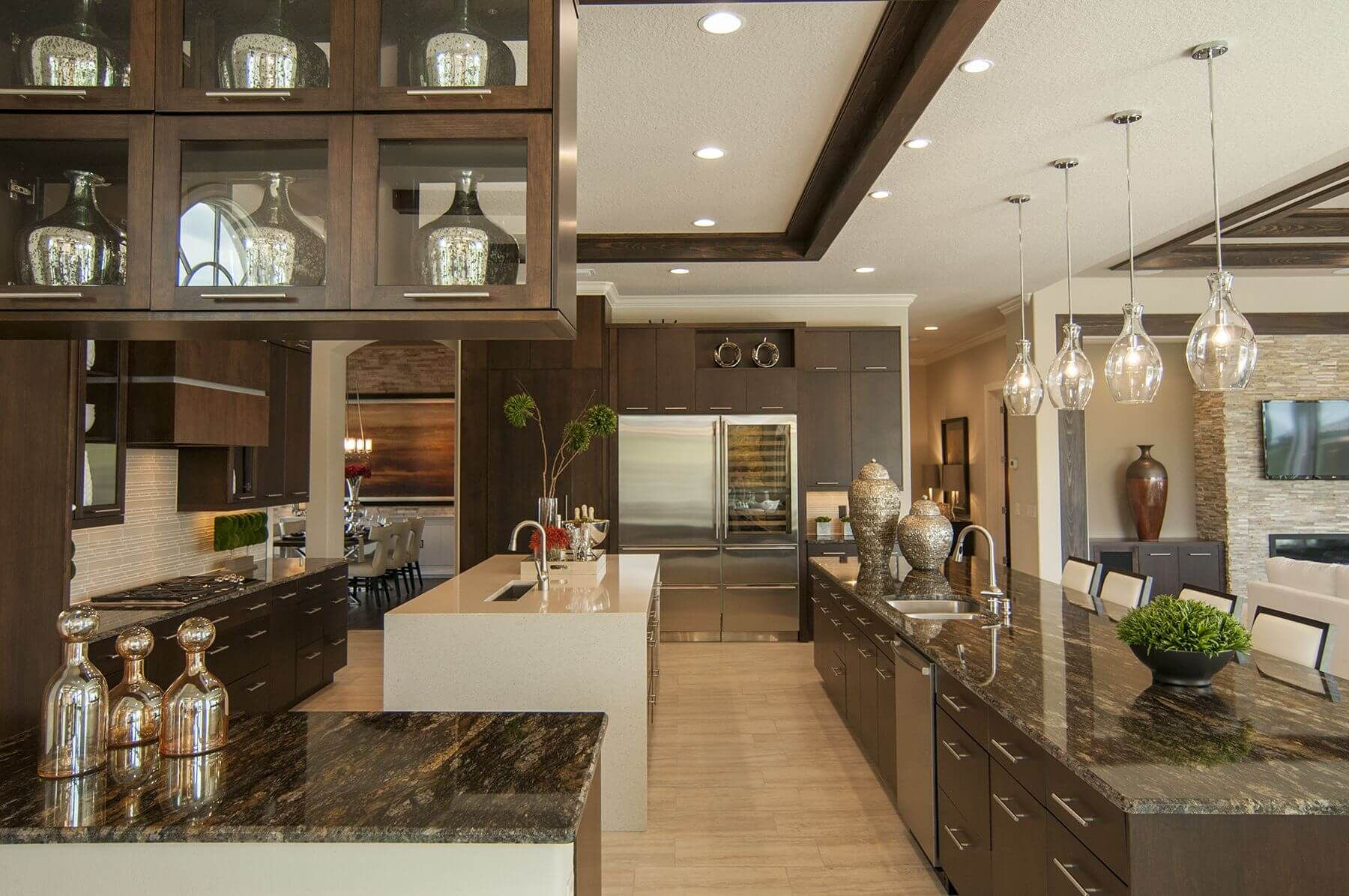 52 Dark Kitchens With Dark Wood And Black Kitchen Cabinets  Light Inspiration Dark Kitchens Designs Design Ideas