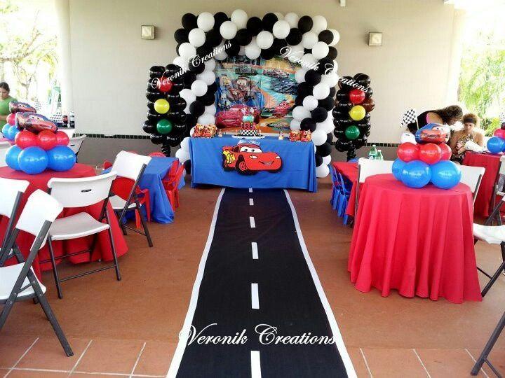Decoracion cumplea os cars 2 buscar con google - Adornos fiesta cumpleanos ...