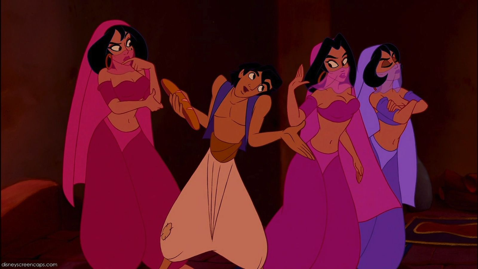 Harem Girls (Aladdin) | Harem girl and Disney stuff for Aladdin All Characters  181obs