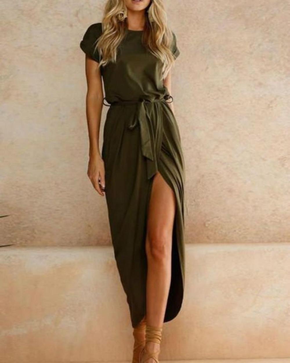 Bridesmaid Dresses Midi Dress Wrap Dresses Maxi Summer Etsy Maxi Dresses Casual Solid Maxi Dress Fashion [ 1250 x 1000 Pixel ]