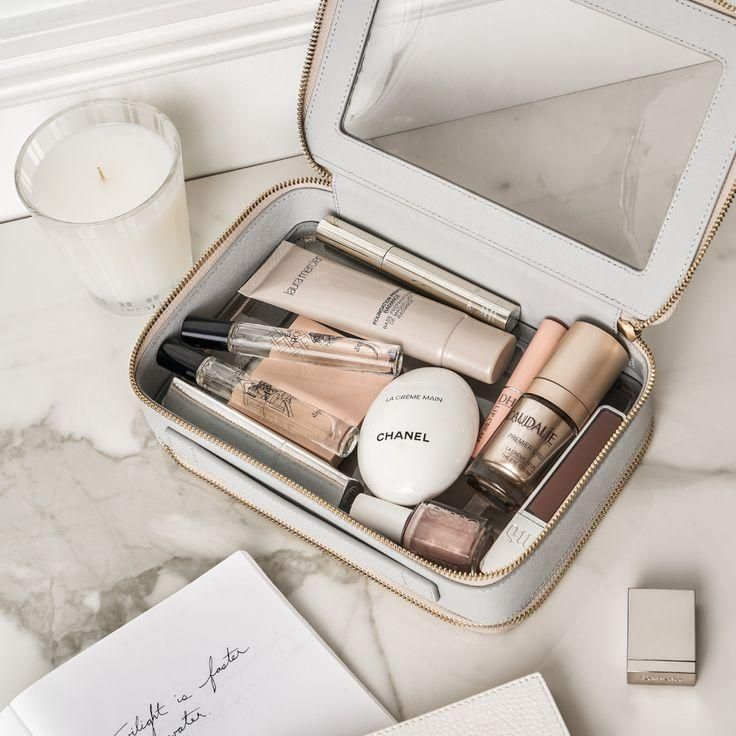 #clearlydelightful   #touch #down from touch down to touch up, keep your must have travel essentials tidy.