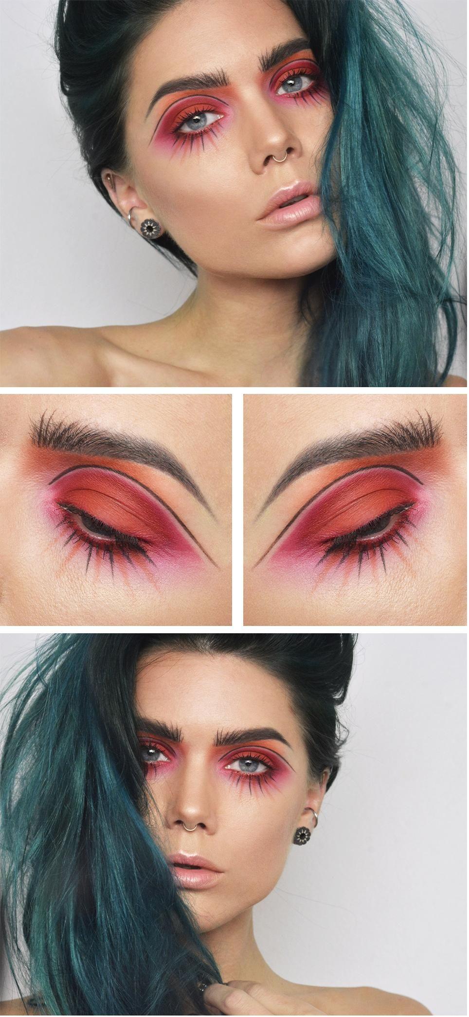 doll face Ögonmakeup, Makeup och Vackra ögon