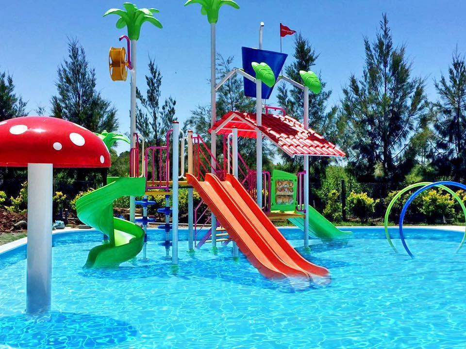 Ltimas instalaciones acu ticas de crucijuegos en el hotel - Toboganes para piscinas ...