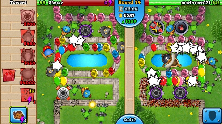 bloons tower defense mod apk
