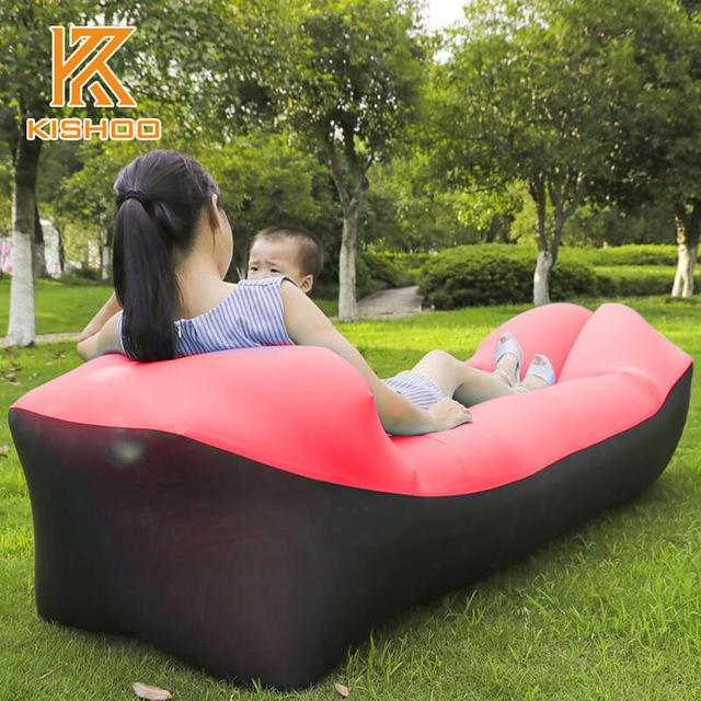 Portable Inflatable Sofa Camping Lazy Lounger