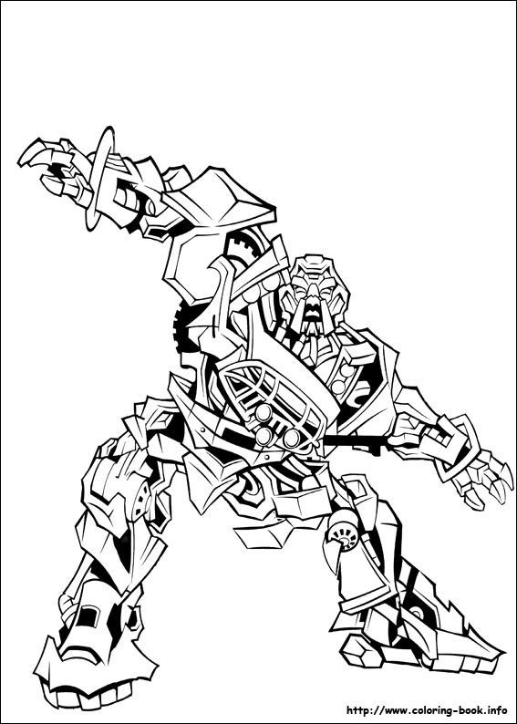 Transformers: Revenge of the Fallen Coloring Pages | Coloring Pages ...