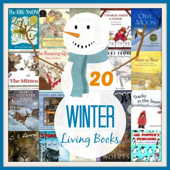 Must Read Homeschool Articles For Encouragement And: 20 Must Read Winter Books For Kids
