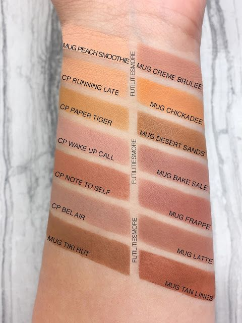 YELLOW AND TRANSITION SHADES: COLOURPOP VS MAKEUP GEEK