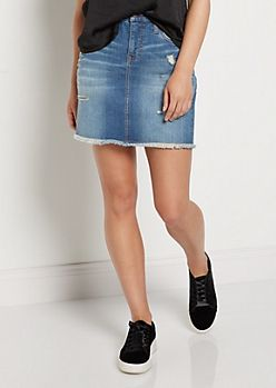 64be562aca Vintage Destroyed Jean Skirt | rue21 | All Jean Everything in 2019 ...
