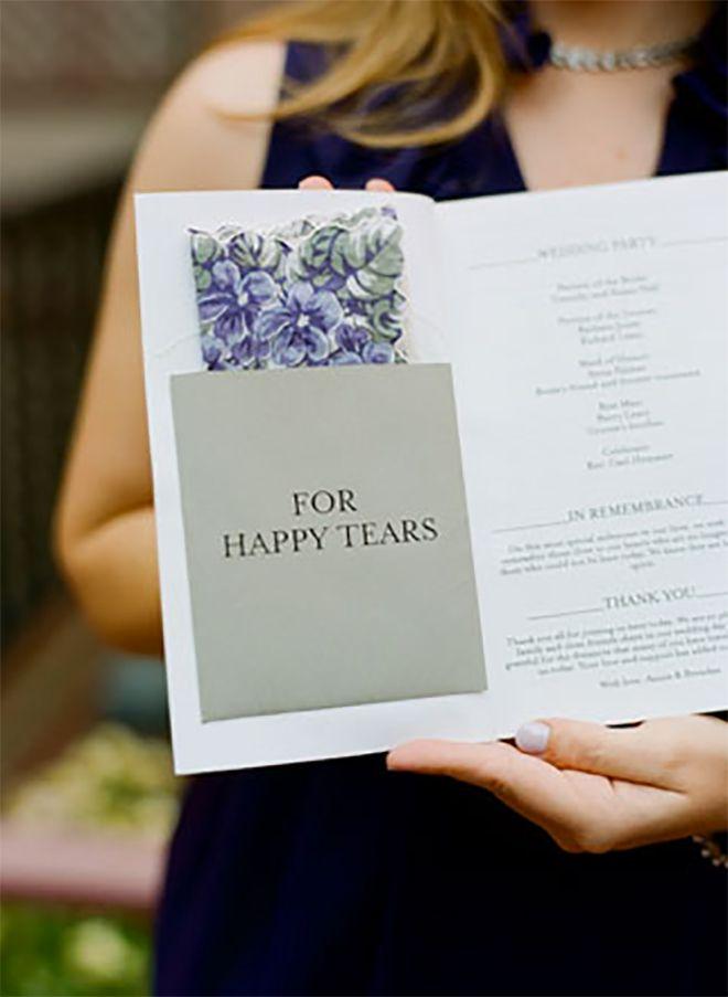 15 Fabulous + Unique Wedding Program Ideas! | Wedding