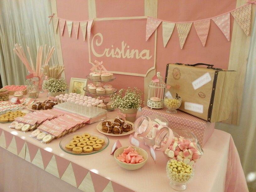 Dise o y decoraci n de eventos sevilla mesa dulce - Decoracion vintage sevilla ...