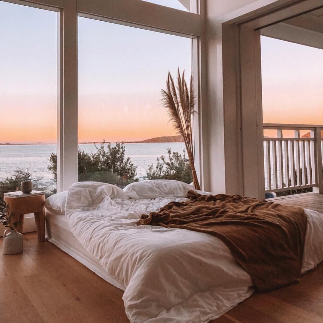 A Bed With A View Via Manimoments Lisadanielle Bed Bedroom