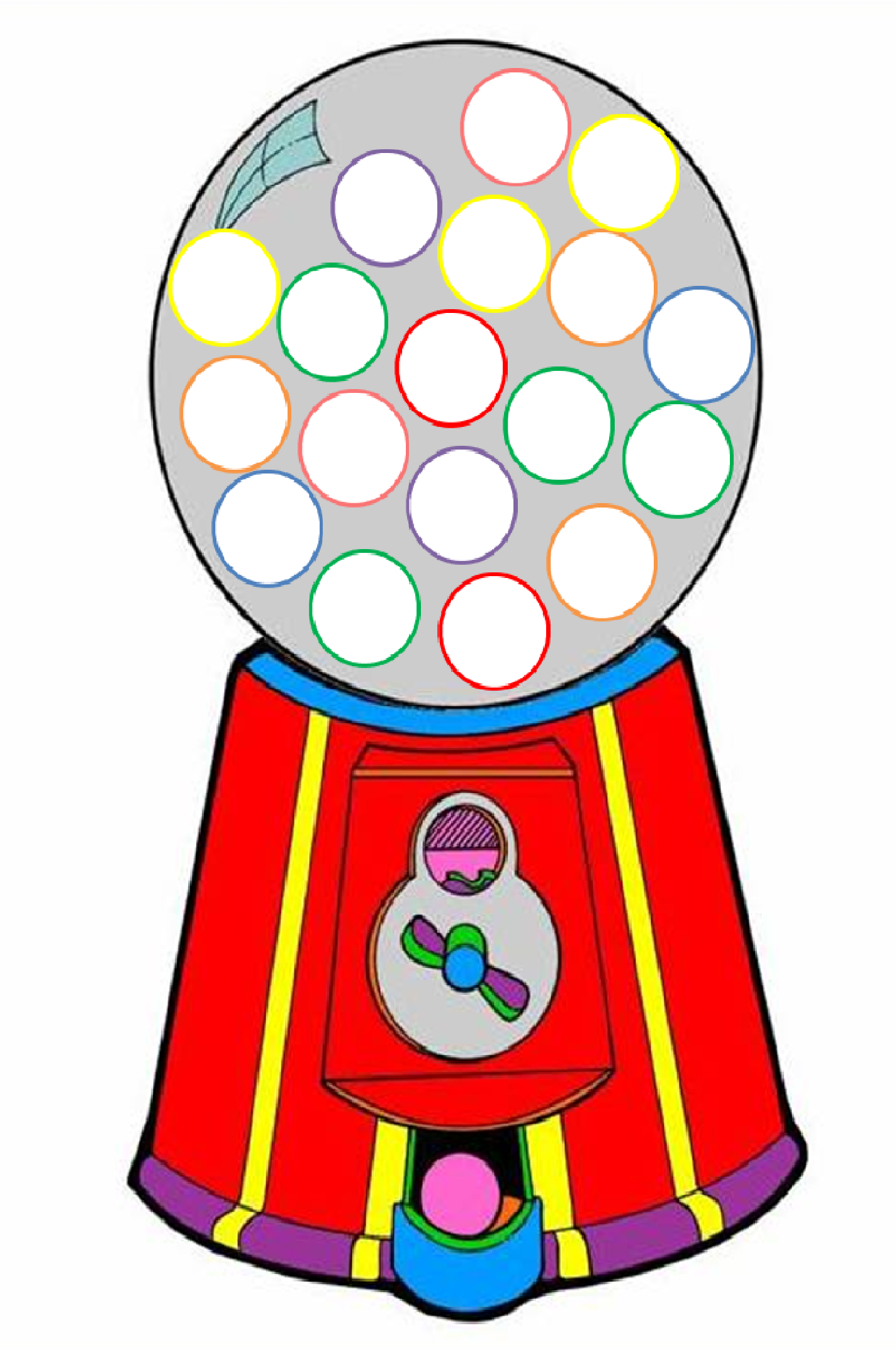 Gumball Machine Clipart Free Cliparts That You Can