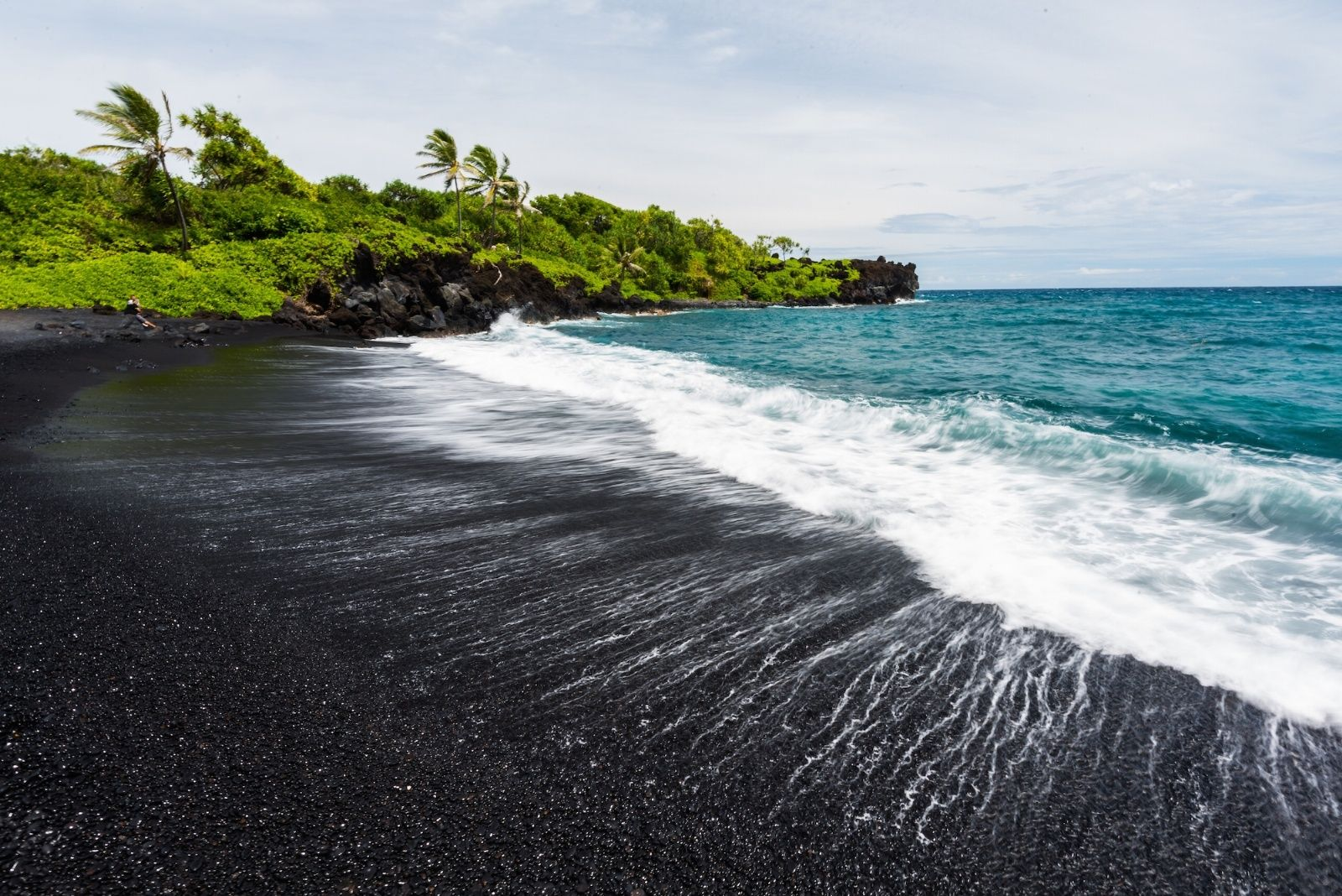 The 22 Most Soul Stirring Black Sand Beaches In World
