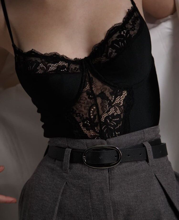 Lingerie uploaded by CP on We Heart It
