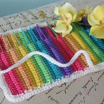 Love Knot Crochet Hook Organizer pattern by Alexis Weber   Crochet ...