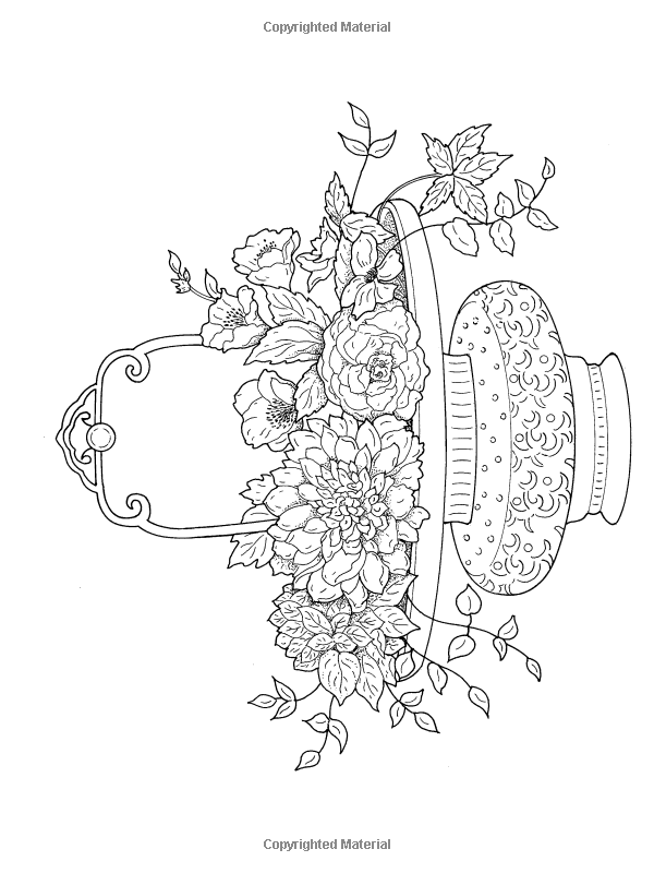 Kindle Book Print Book Feedback Help Expanded View Close Go To Creative Haven Beautiful Flower Ar Coloring Books Flower Coloring Pages Coloring Pages