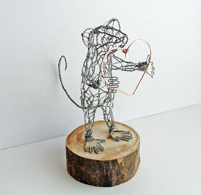 Wire Sculptures by Ruth Jensen | Products I Love | Pinterest | Wire ...