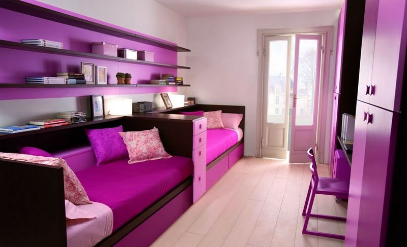 Bedroom Designs For Teenage Girls With Pink Color. Pink Color Is Very  Popular With Teenage Girls, So Many Teenage Girls Decor.