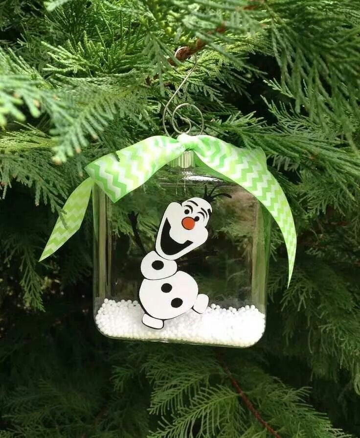 Olaf Ornament From Movie Frozen  Christmas  Pinterest  Ornament
