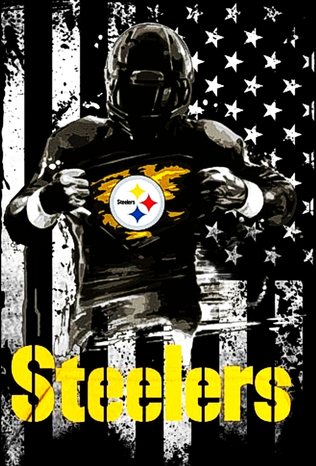 steelergalfan4life 🖤💛 Pittsburgh steelers helmet