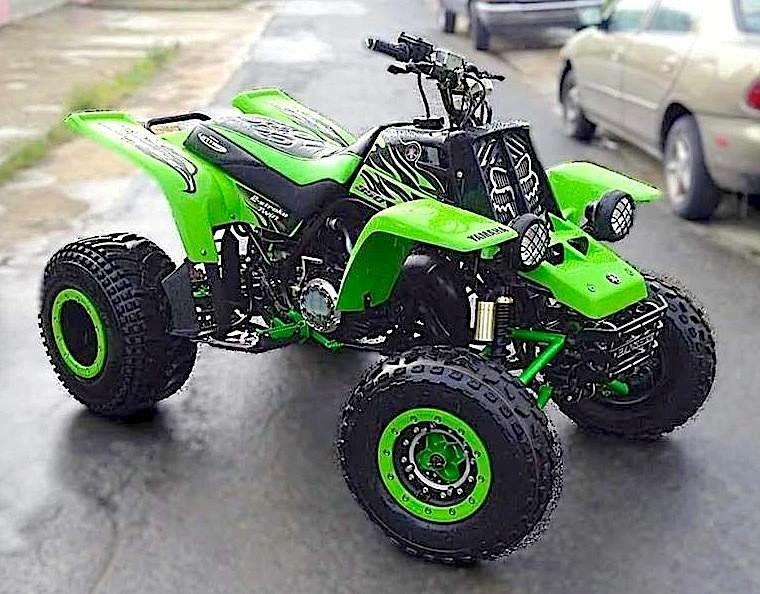 I Love That Green Yamaha Banshee Atv Quads Dirtbikes