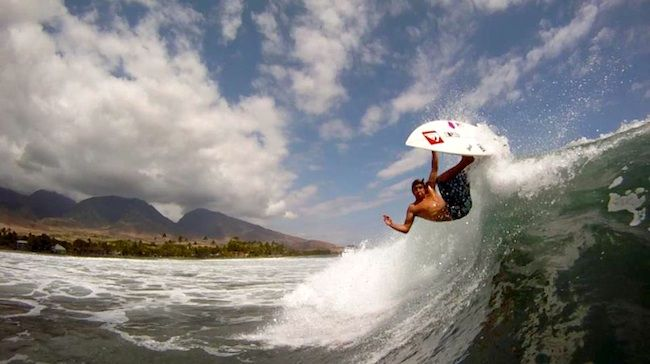 Frame Grabs - Clay Marzo  #surf