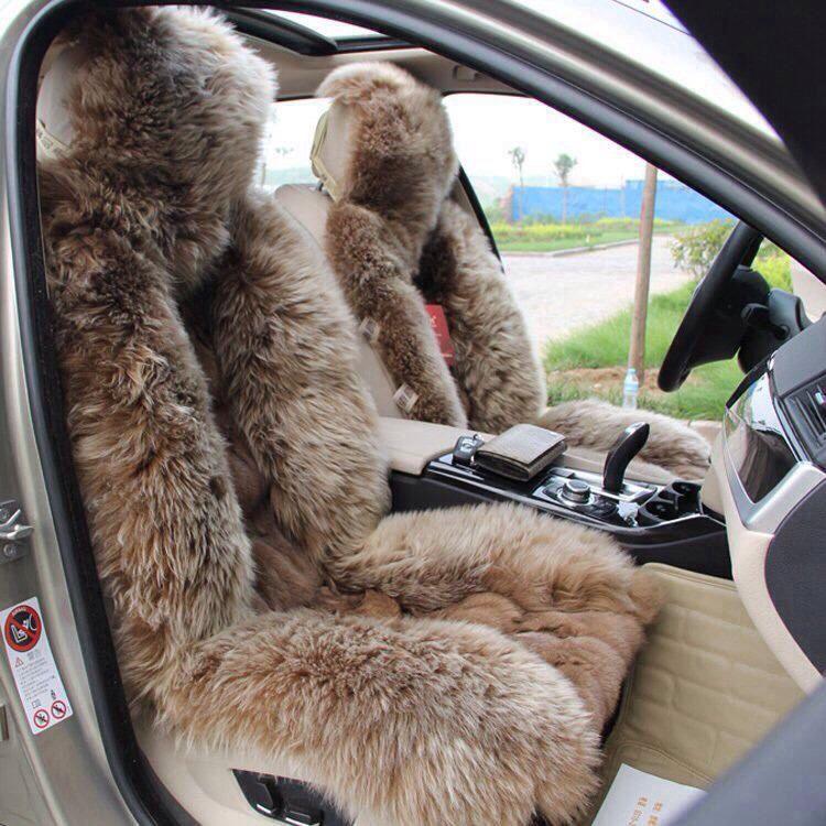 Superb Fox Mink Fur Seat Covers Car Sheepskin Car Seat Covers Pabps2019 Chair Design Images Pabps2019Com