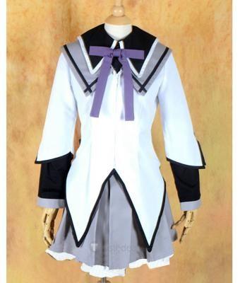 Puella Magi Madoka Magica Akemi Homura Cosplay Costume  - Anime Cosplay Costumes - Trustedeal.com