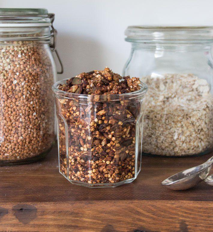 Buckwheat and Ginger Granola   Ginger granola recipe ...
