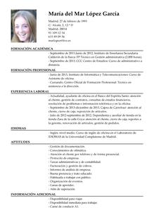 Modelo De Curriculum De Auxiliar Administrativo Hum Curriculum Y