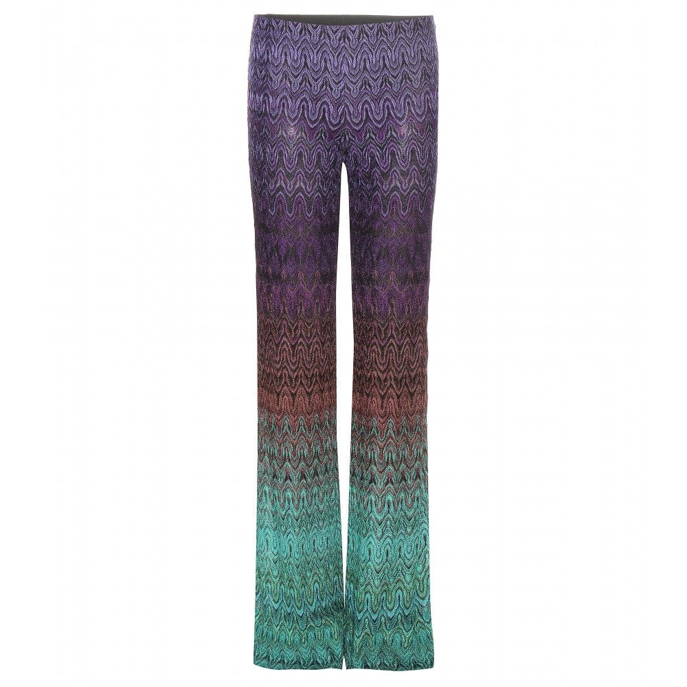 c4ea8fa37a5 Missoni - Printed trousers - Lift them with wedge sandals for added retro  finesse. -   www.mytheresa.com