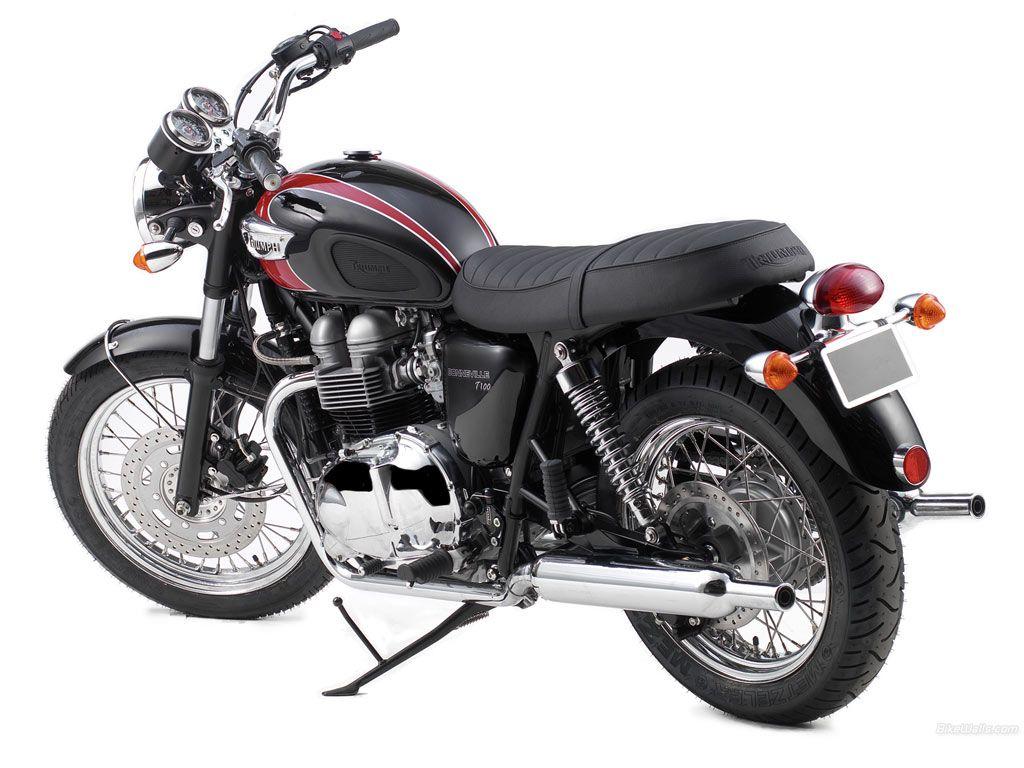 Triumph Motorcycles | Triumph Bonneville T100 2006 02 Triumph Bonneville Price in India ...