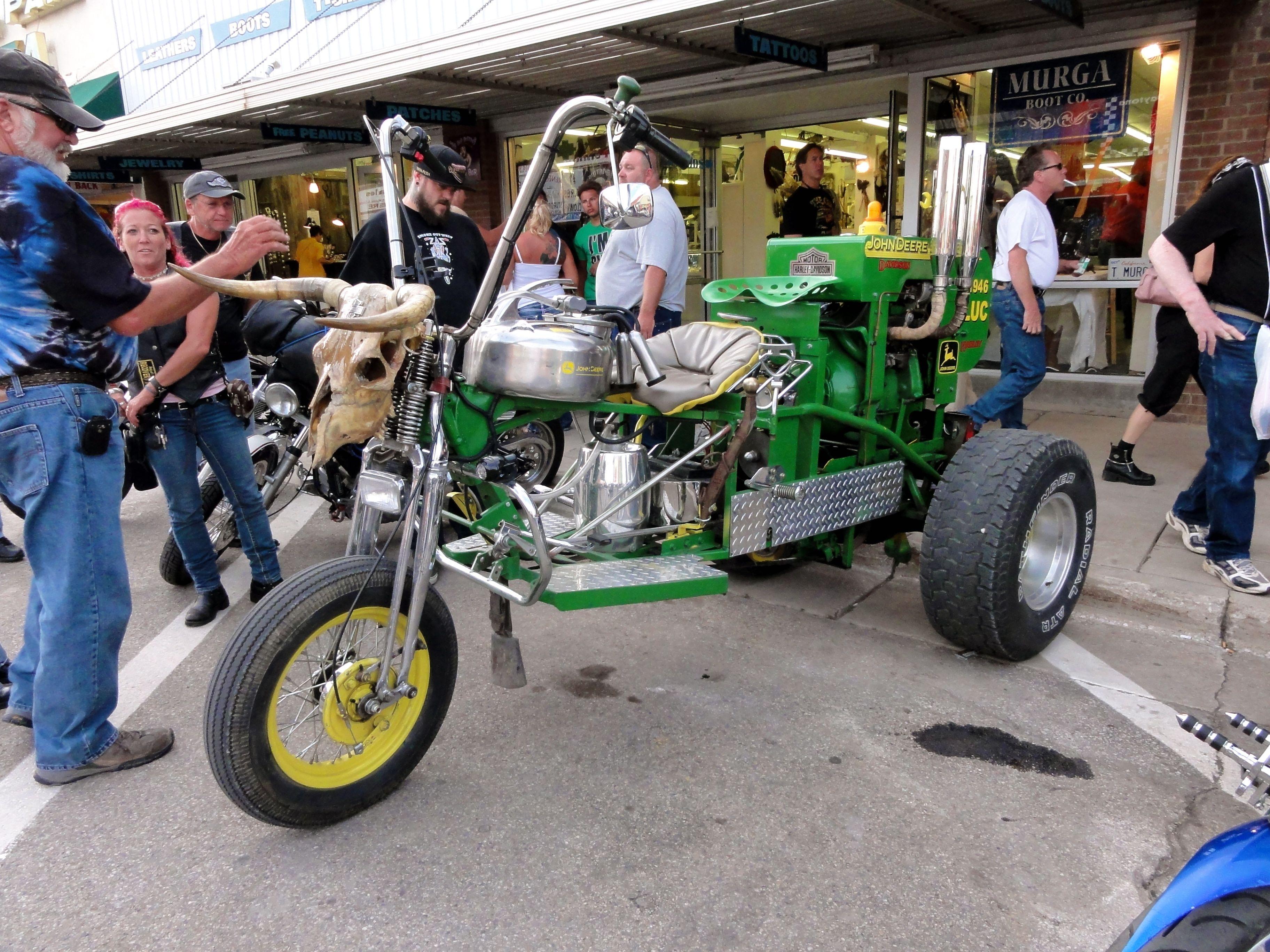 John Deere Mighty Trike - - Fat Brain Toys  |John Deere Trike Sturgis